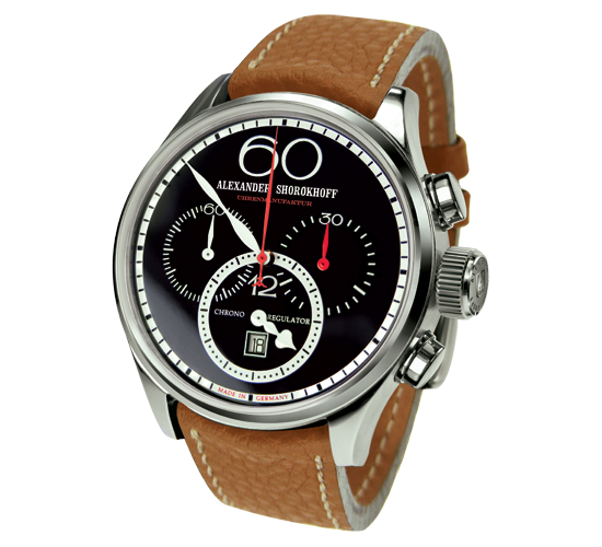 Alexander Shorokhoff AvantGarde Regulator Chronograph