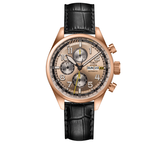 Aviator Airacobra Chrono Rose Gold RG