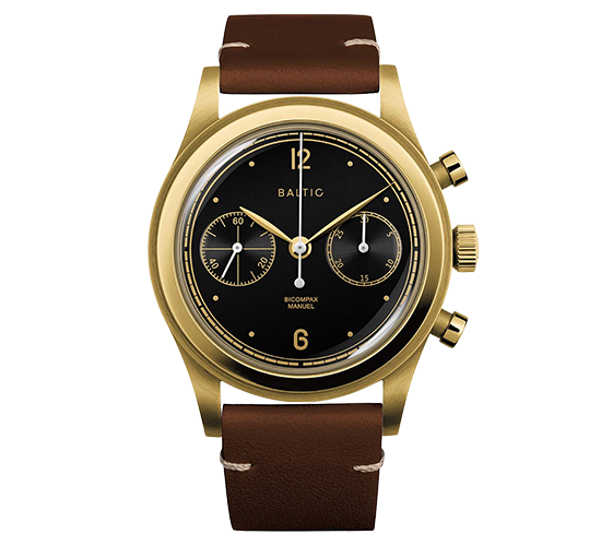 Baltic Bicompax 001 Chronograph Gold DLC