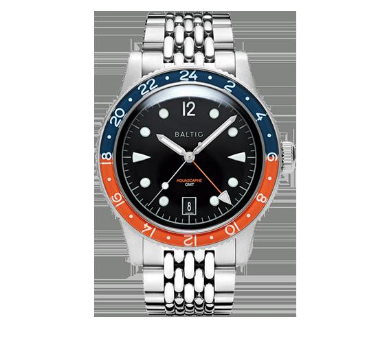 Baltic Aquascaphe GMT Orange