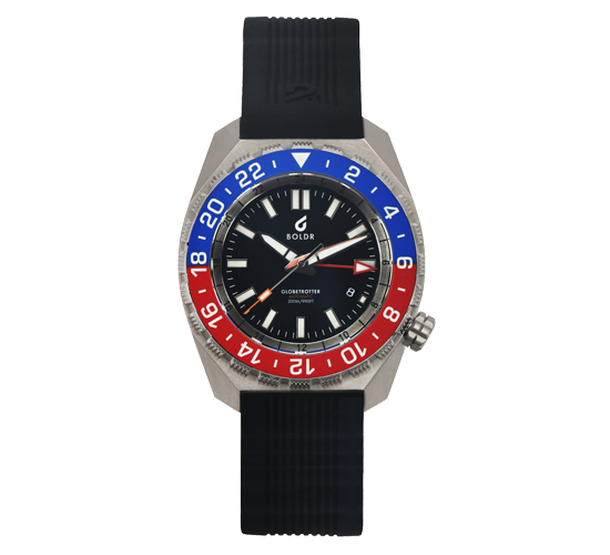 Boldr Globetrotter GMT Blue/Red