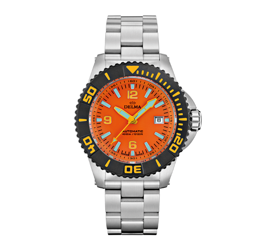 Delma Blue Shark III DLC Orange
