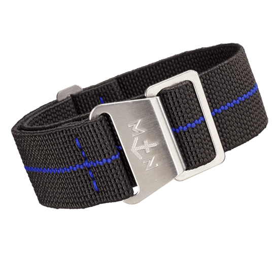 Erika's Originals MN Black Ops/Blue 20mm Strap