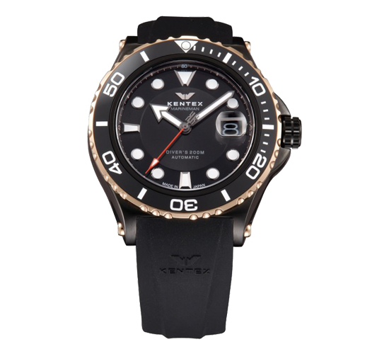 Kentex Marineman Black/Rose Gold S706M-16