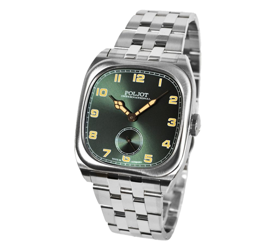 Poljot International Bolshoi Vintage Green