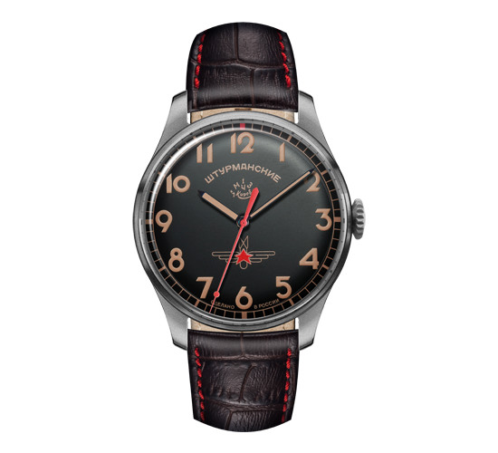 Sturmanskie Gagarin Vintage Black/Orange SS