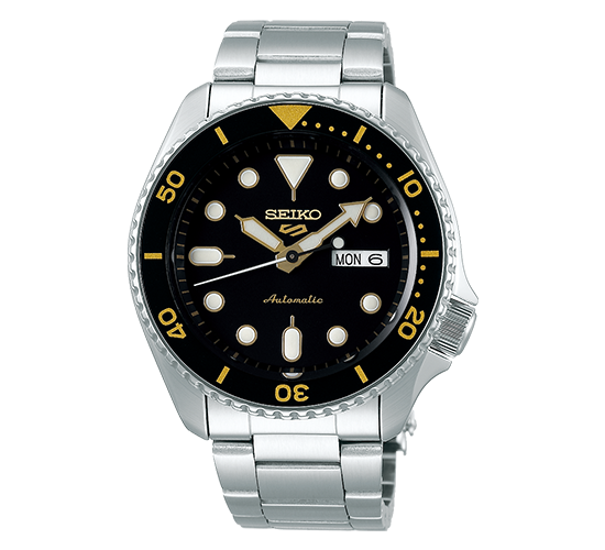 Seiko 5 SRPD57K1 Sports Black Gold