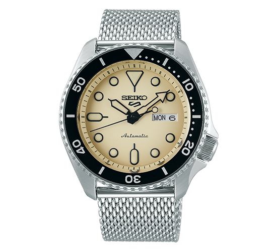 Seiko 5 SRPD67K1 Suits Cream