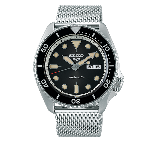 Seiko 5 SRPD73K1 Suits Black