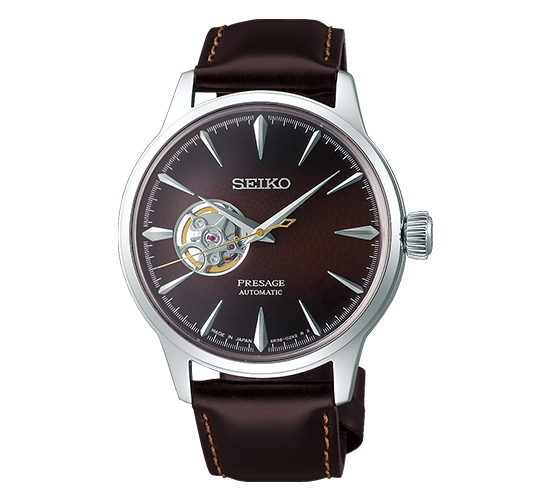 Seiko SSA407J1 Presage Cocktail Brown