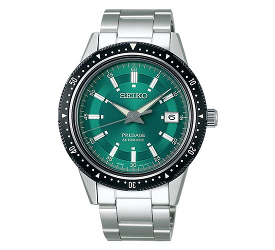 Seiko SPB129J1 Presage Crown Green