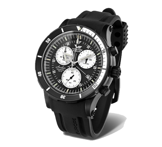 Vostok Europe Anchar Grand Black PVD Chrono