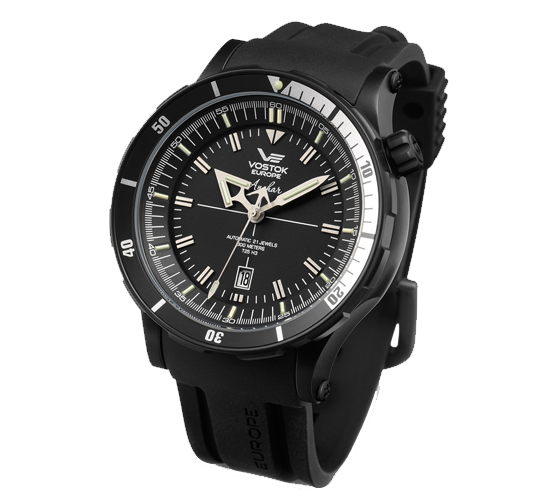 Vostok Europe Anchar Black PVD