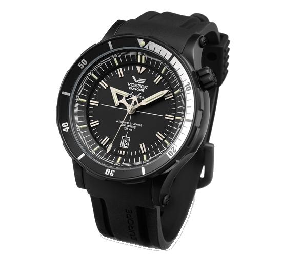 Vostok Europe Anchar Black PVD