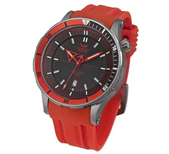 Vostok Europe Anchar Titanium Red