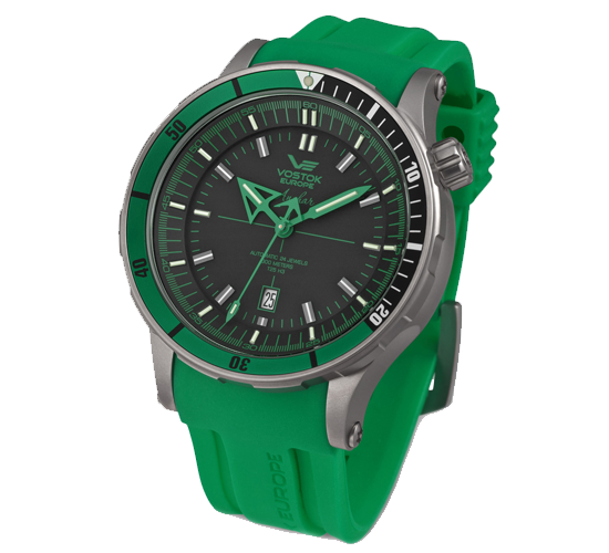 Vostok Europe Anchar Titanium Green