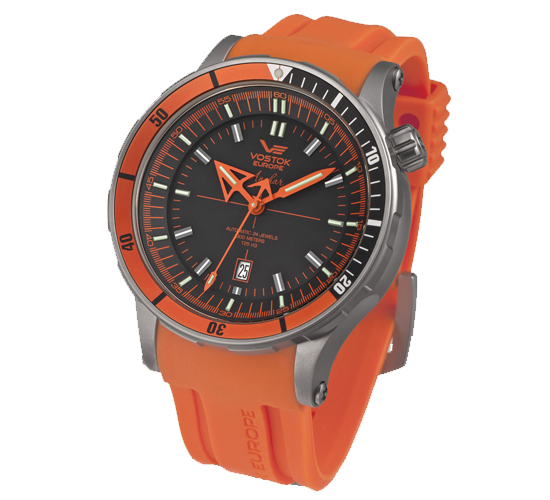 Vostok Europe Anchar Titanium Orange