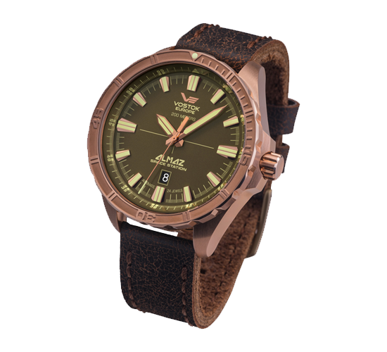 Vostok Europe Almaz Bronze Brown