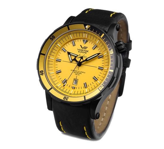 Vostok Europe Anchar PVD Yellow