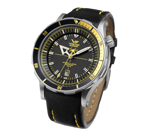 Vostok Europe Anchar Black-Yellow
