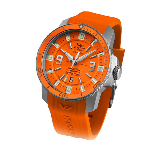 Vostok Europe Ekranoplan Orange
