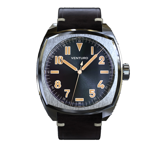 Venturo Field Watch 2 Sunburst Black