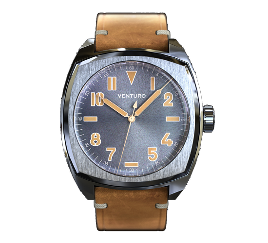 Venturo Field Watch 2 Sunburst Grey