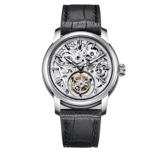 Waldhoff Imperial Tourbillon Diamond Silver