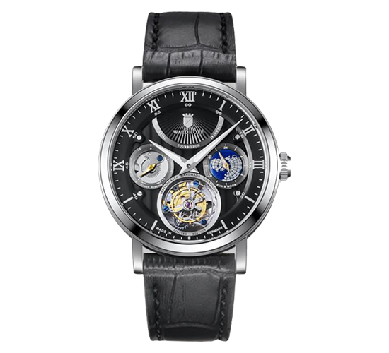Waldhoff Ultramatic Tourbillon Obsidian Black