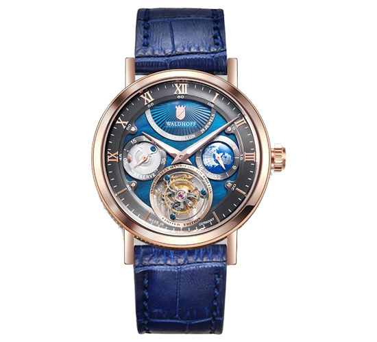 Waldhoff Ultramatic Tourbillon Carbon Bay Rose Gold