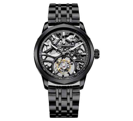 Waldhoff Vanguard V8 Tourbillon Black