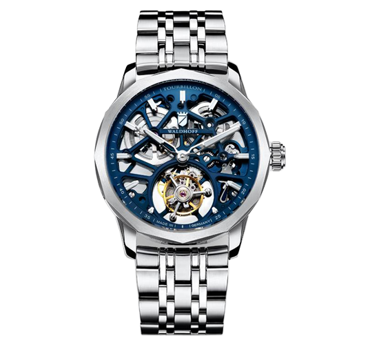 Waldhoff Vanguard V8 Tourbillon Royal Blue