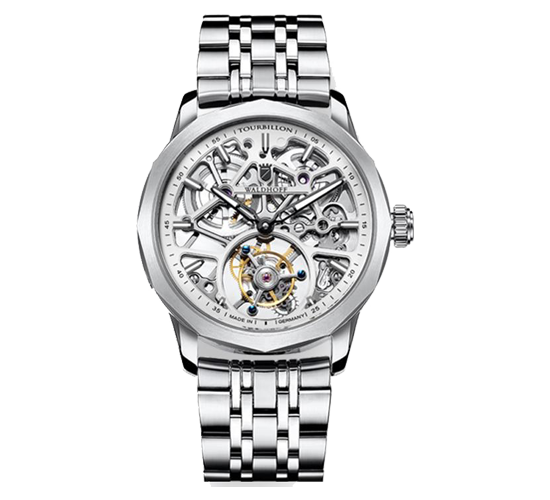 Waldhoff Vanguard V8 Tourbillon Diamond Silver