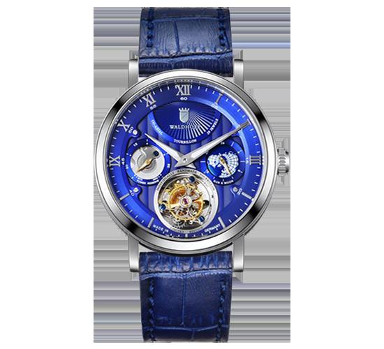 Waldhoff Ultramatic Tourbillon Royal Blue