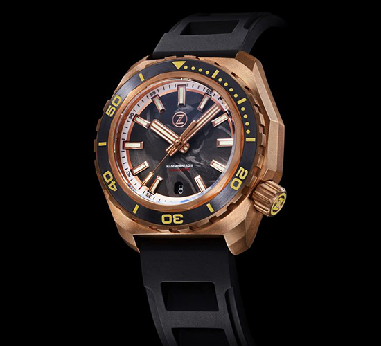 Zelos Hammerhead 2 Bronze Forged Carbon