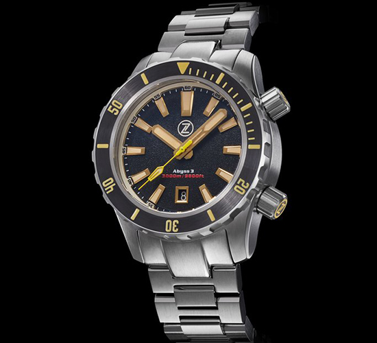 Zelos Abyss 3 Stainless Steel Black Sand